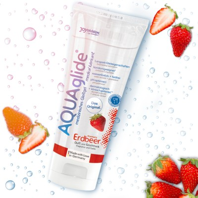 AQUAGLIDE MORANGO 100 ML