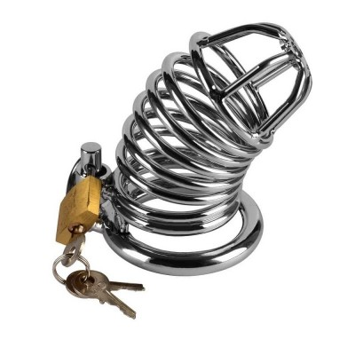 METAL CHASTITY CAGE